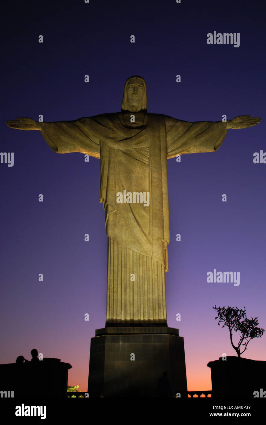 Christ the Redeemer, Rio de Janeiro, Brazil - Stock Image