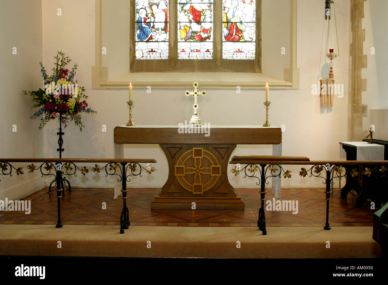 communion table in st catwg s church pentyrch cardiff suburbs south