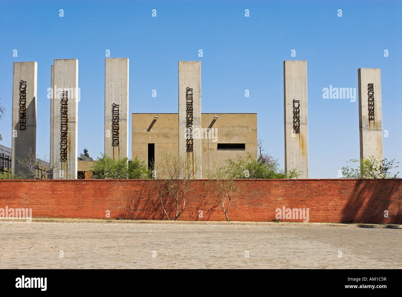 Apartheid Museum, Ormonde, Johannesburg, South Africa, Africa Stock Photo