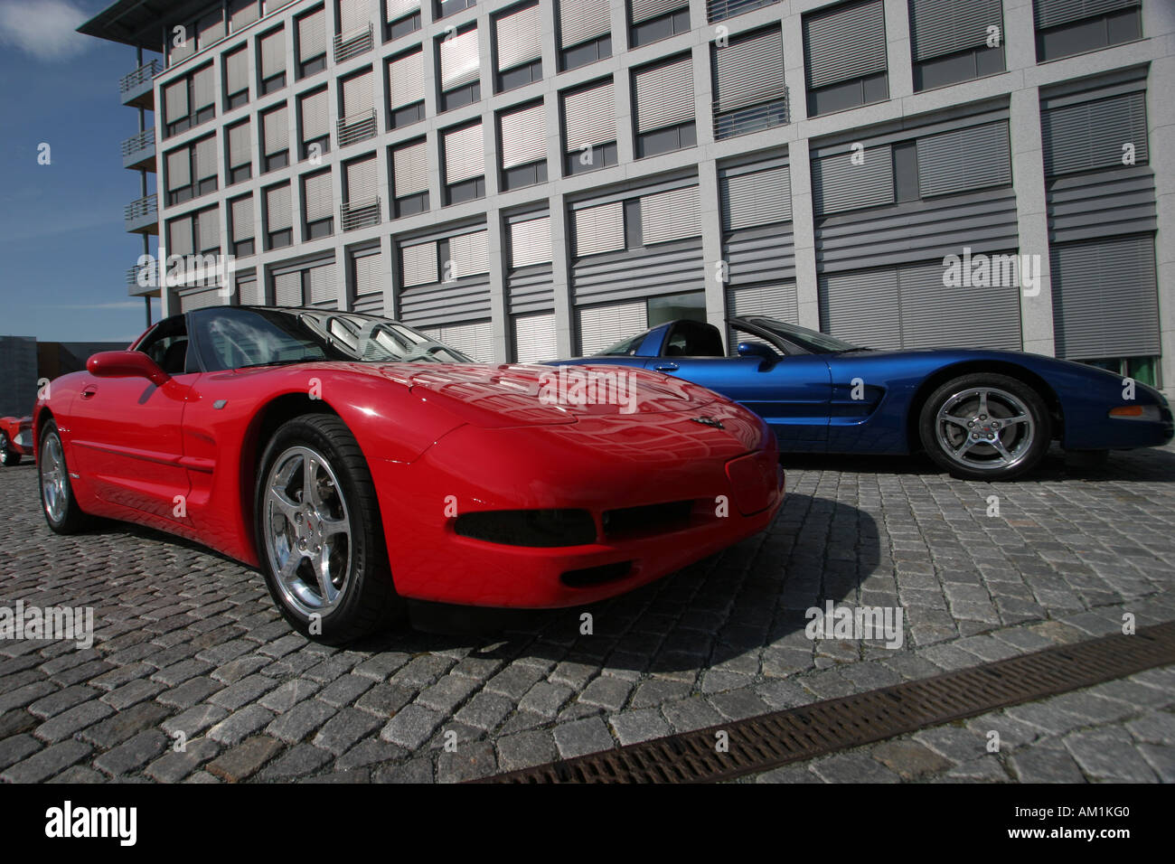 classy Italian car - Stock Image