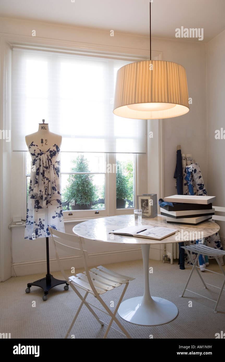 Dressmaker's room - Stock Image