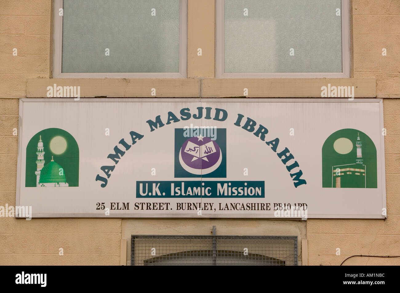 Islamic Mission on the streets of Burnley - Stock Image