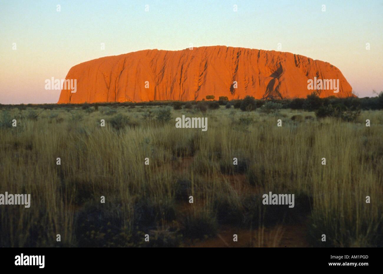 AUSTRALIA Northern Territory Uluru - Stock Image