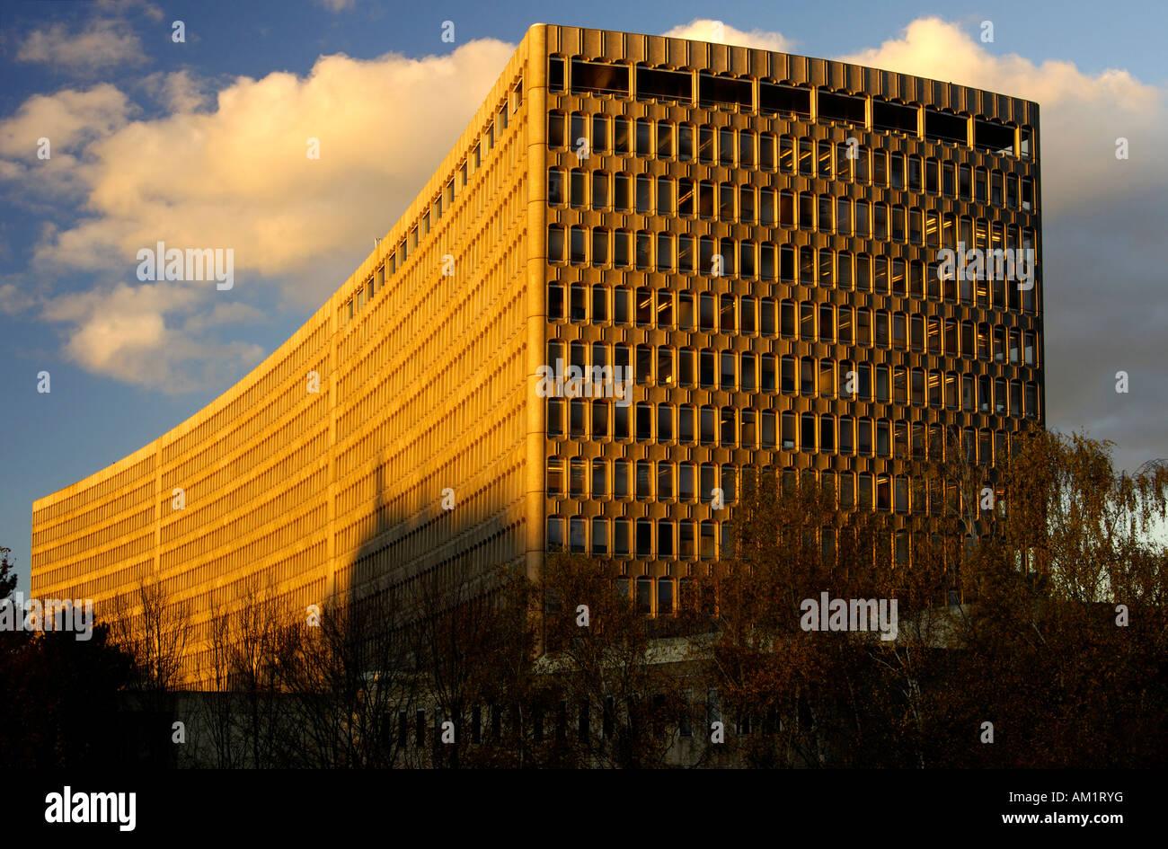 Headquarters of the International Labour Organization, ILO, Geneva, Switzerland - Stock Image