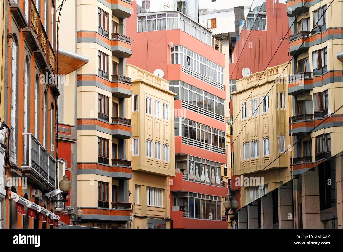 Calle Mayor de Triana, Las Palmas de Gran Canaria, Spain - Stock Image