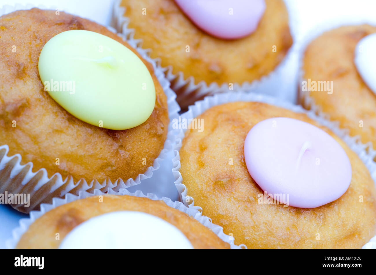 Fresh Cakes - Stock Image