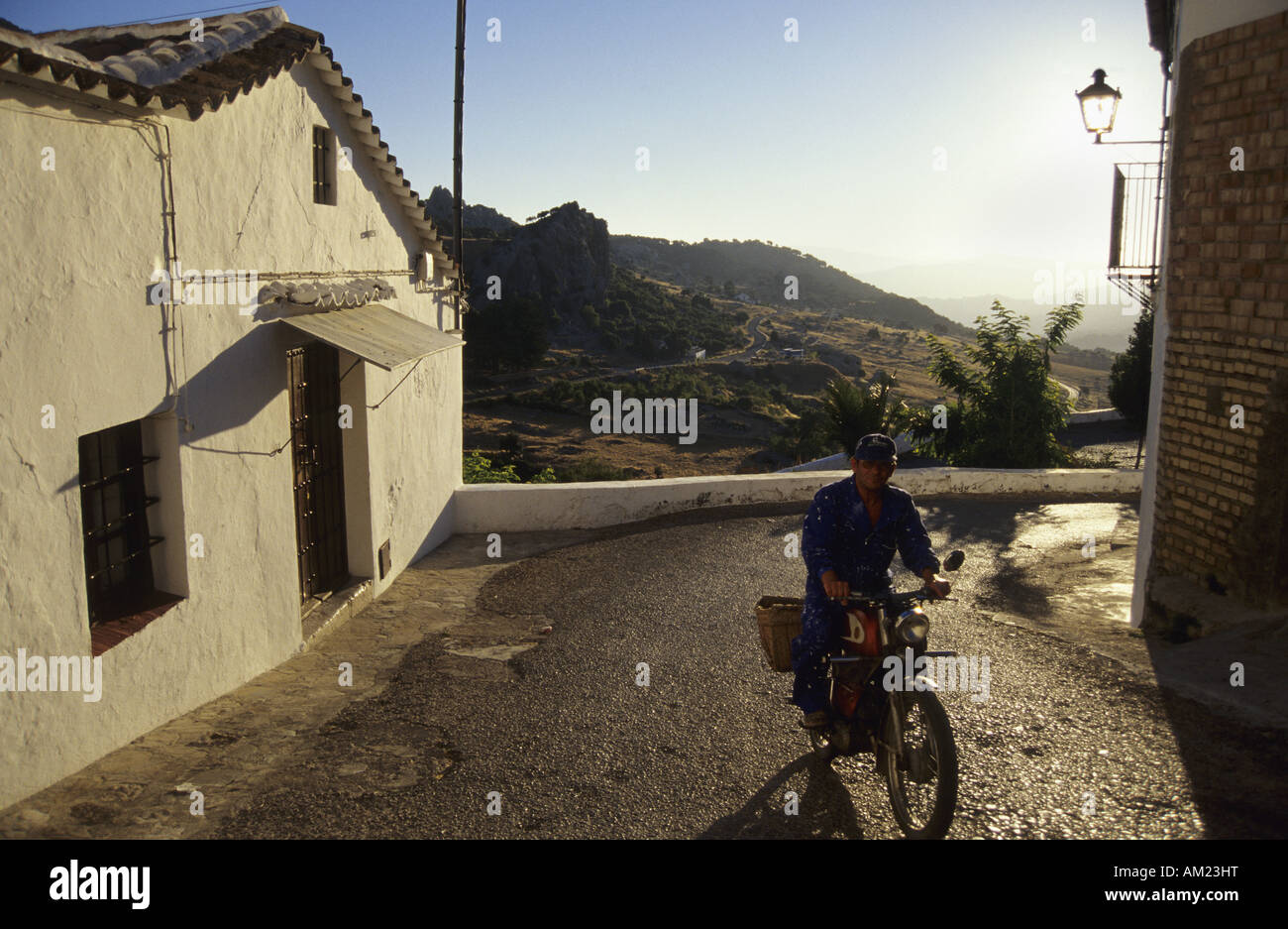 Village of GRAZALEMA Province of Cadiz Region of Andalusia Spain Stock Photo