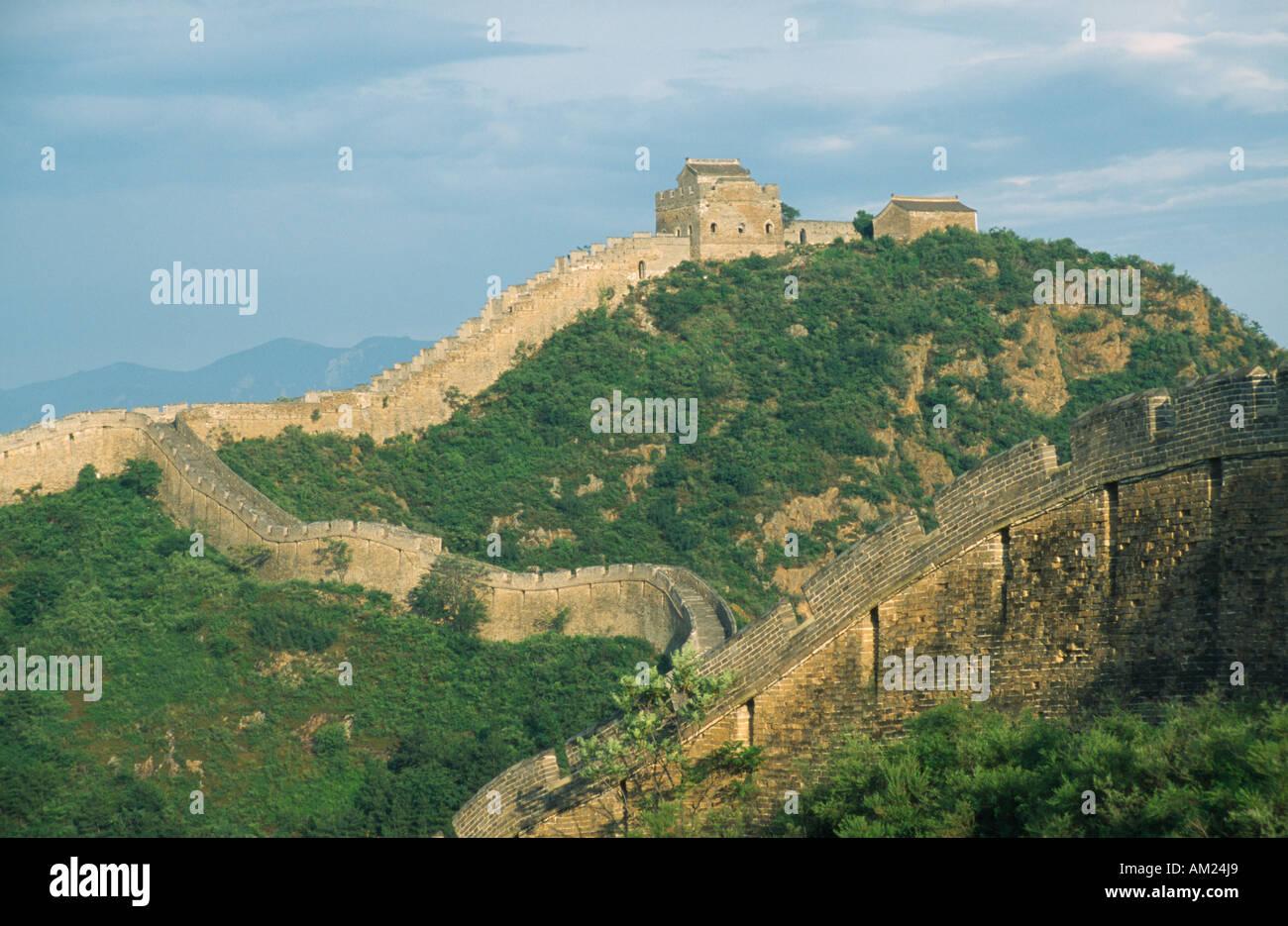 CHINA Beijing Division Jinshanling - Stock Image