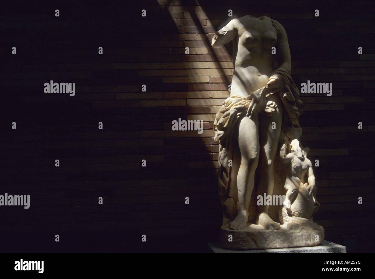 National museum of Roman Art MERIDA Badajoz Extremadura Spain - Stock Image
