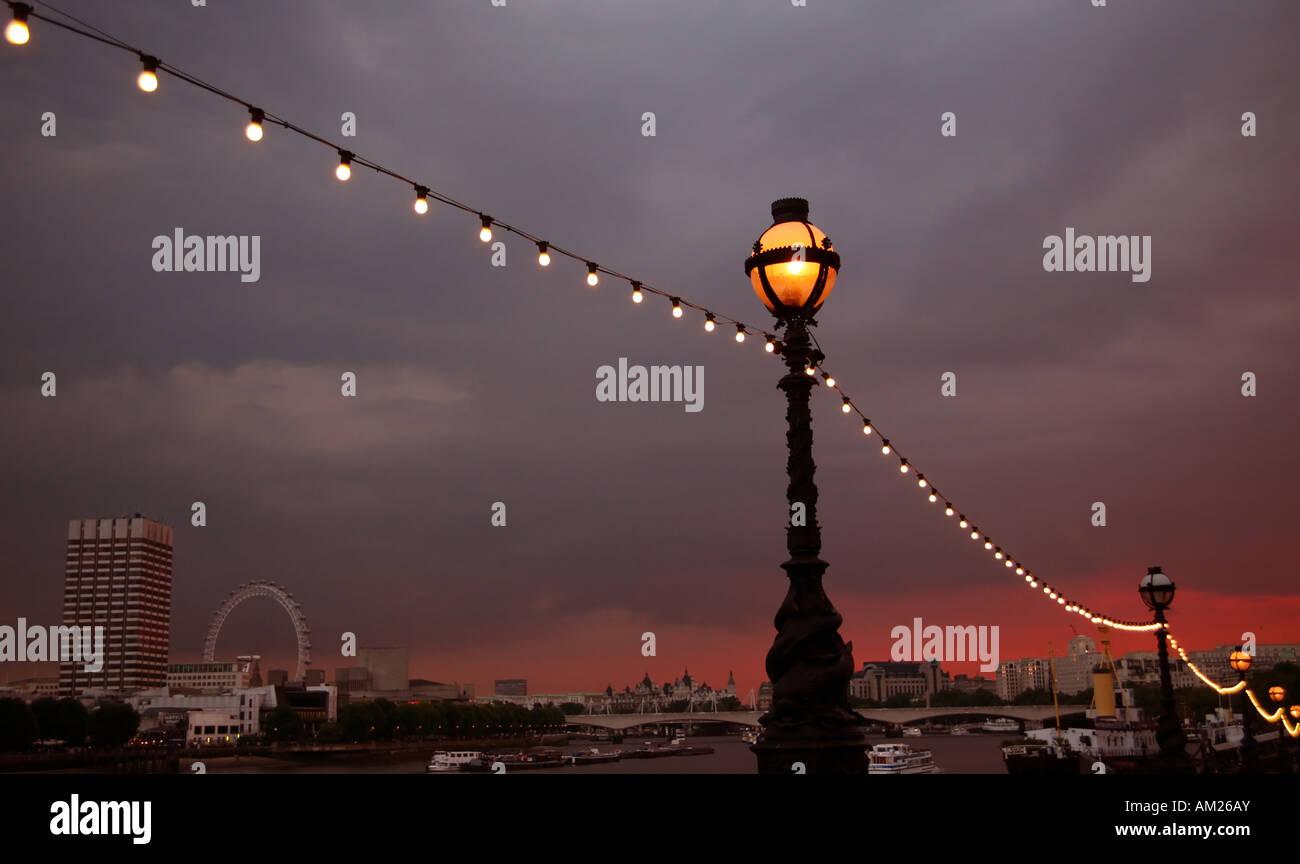 london embankment - Stock Image