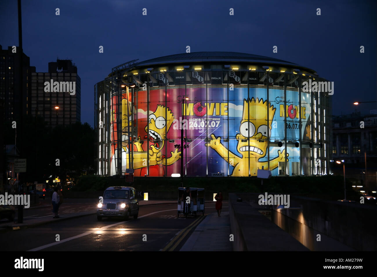bfi british film institute imax - Stock Image