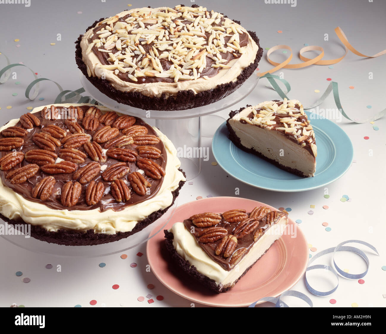 Ice Cream Pies Pecan Peanut Butter Party Holiday Birthday Celebration