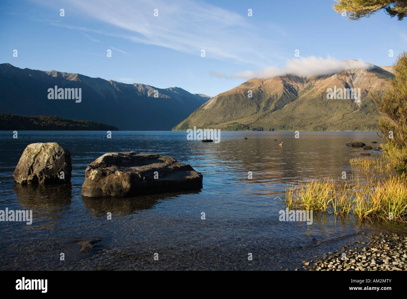 Nelson Lakes State Park New Zealand - Stock Image
