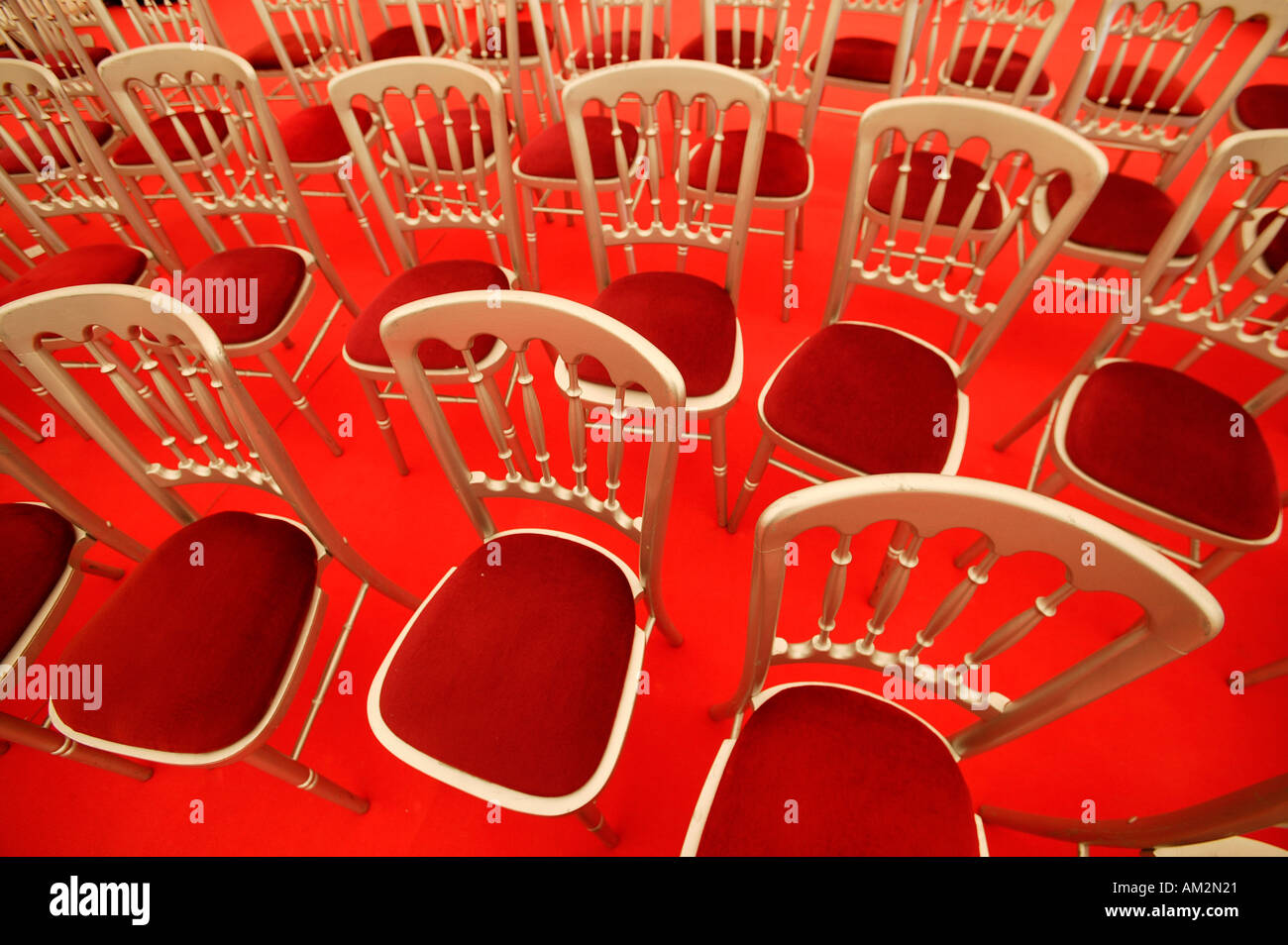 Empty seats - Stock Image