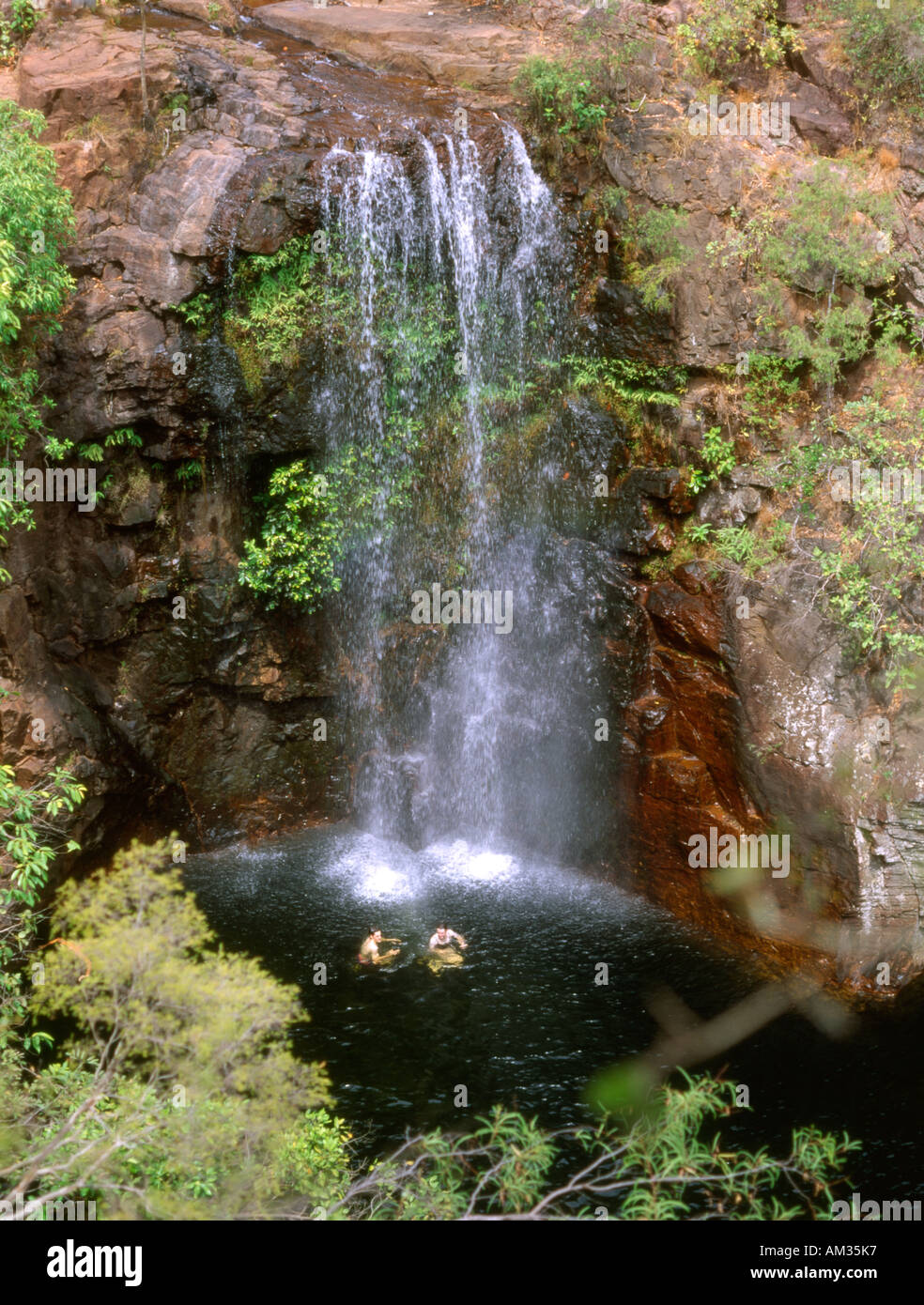 Australia. Northern territory. Litchfield national park. Florence falls - Stock Image