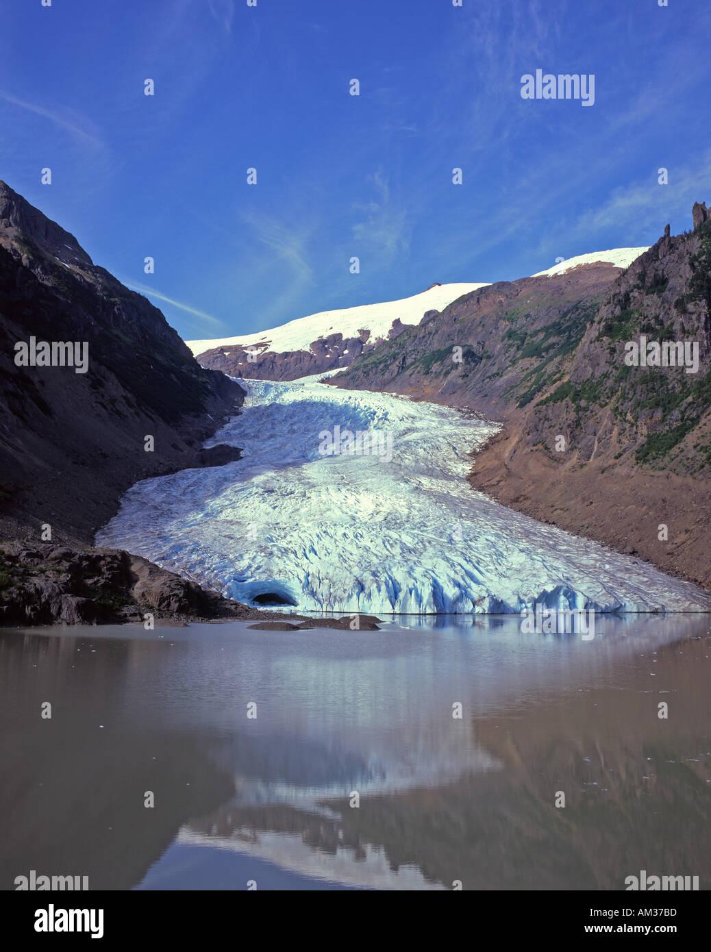 Bear Glacier Bear Pass British Columbia Canada  - Stock Image