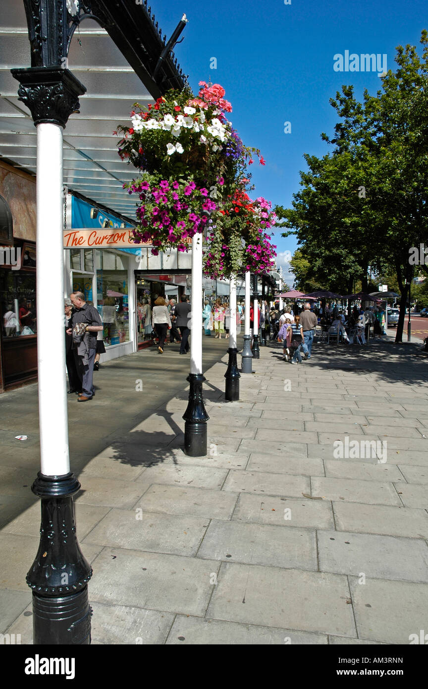 lord street ,southport,england Stock Photo
