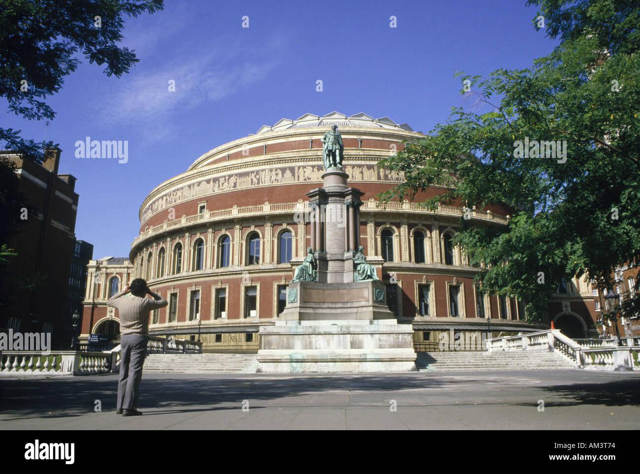 ALBERT HALL Kensington Road London - Stock Image