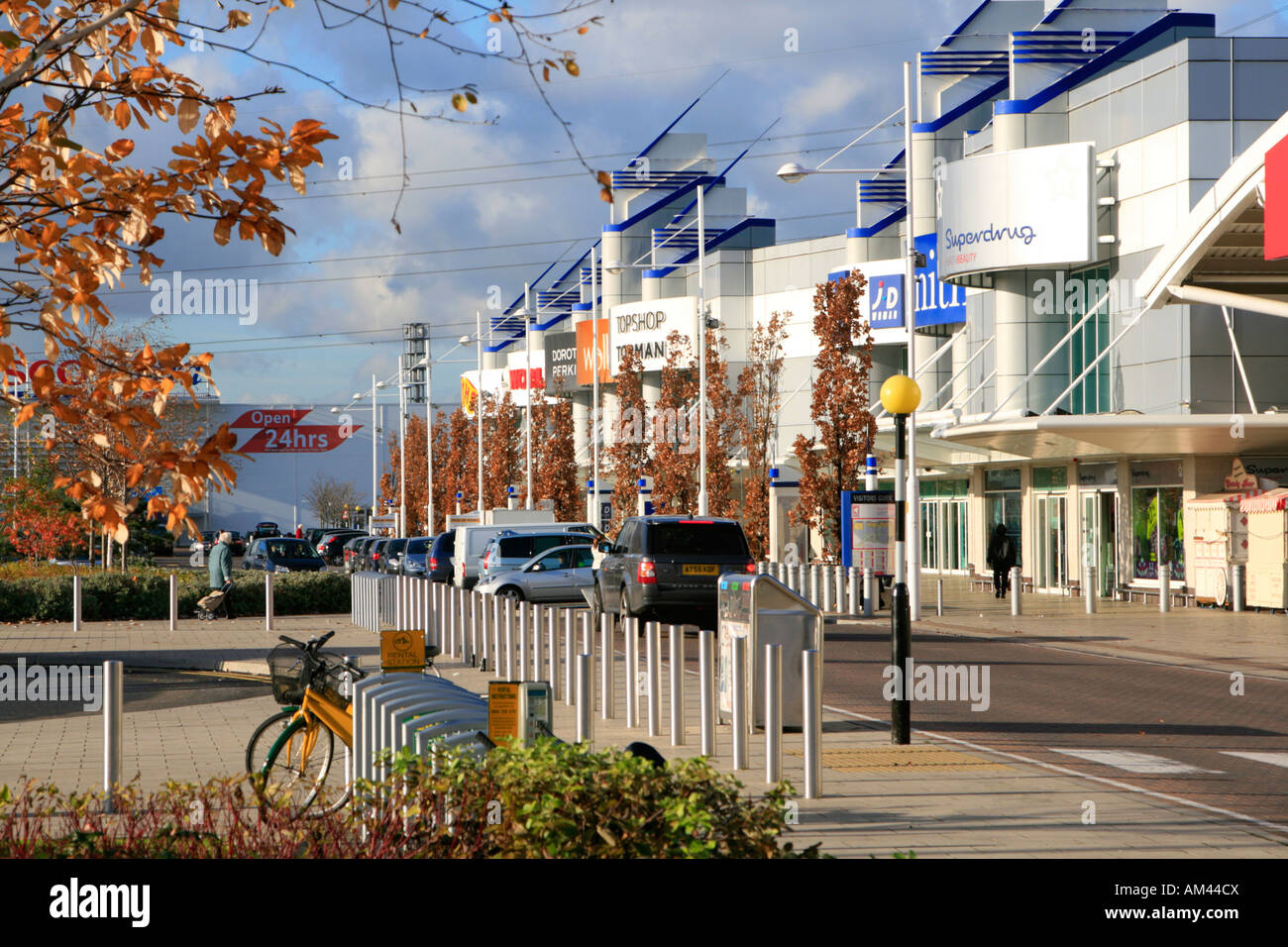 gallions reach shopping centre within the M25 east london england uk gb Stock Photo