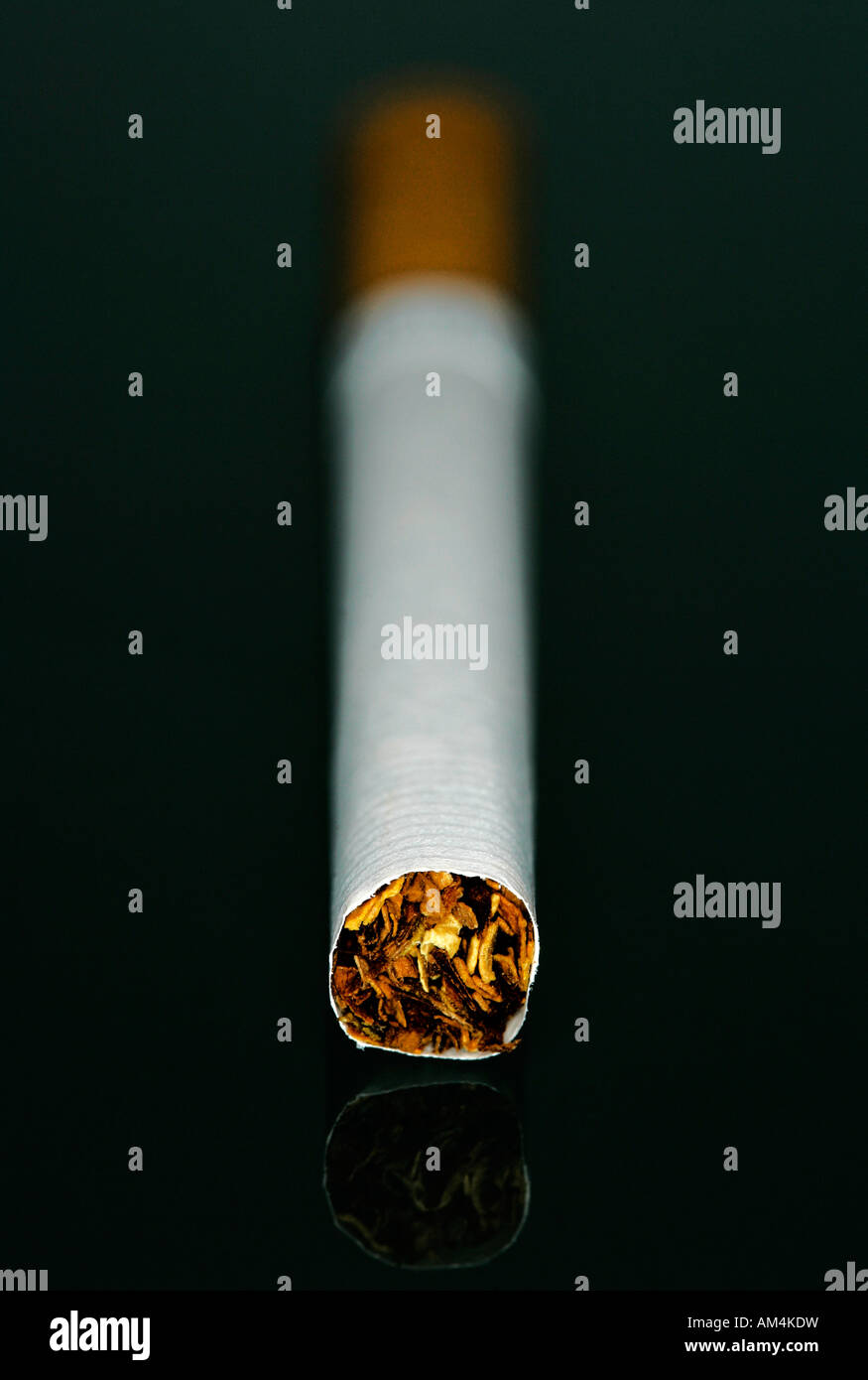 A cigarette - Stock Image