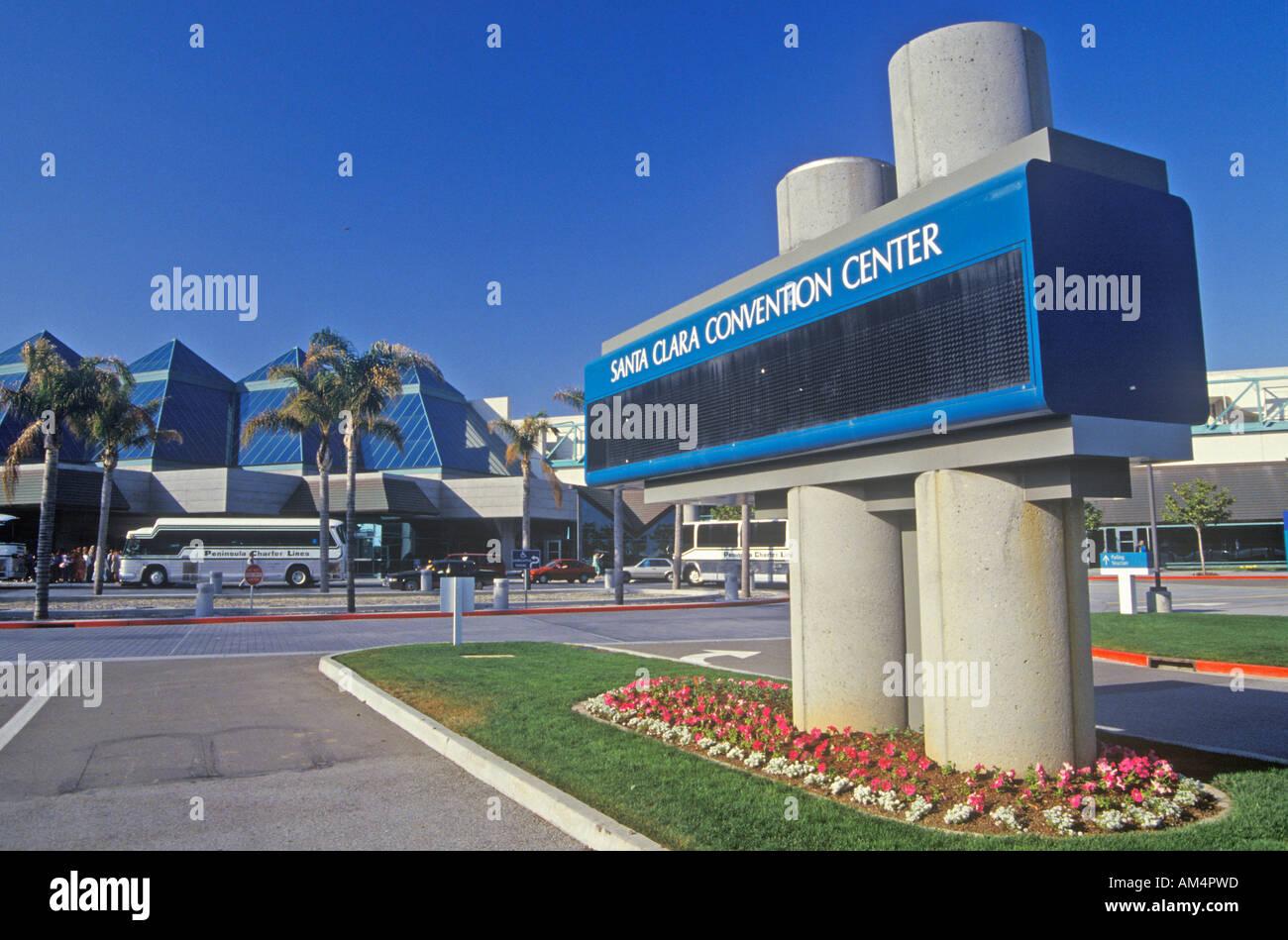 Santa Clara Convention Center in Santa Clara Silicon Valley California Stock Photo