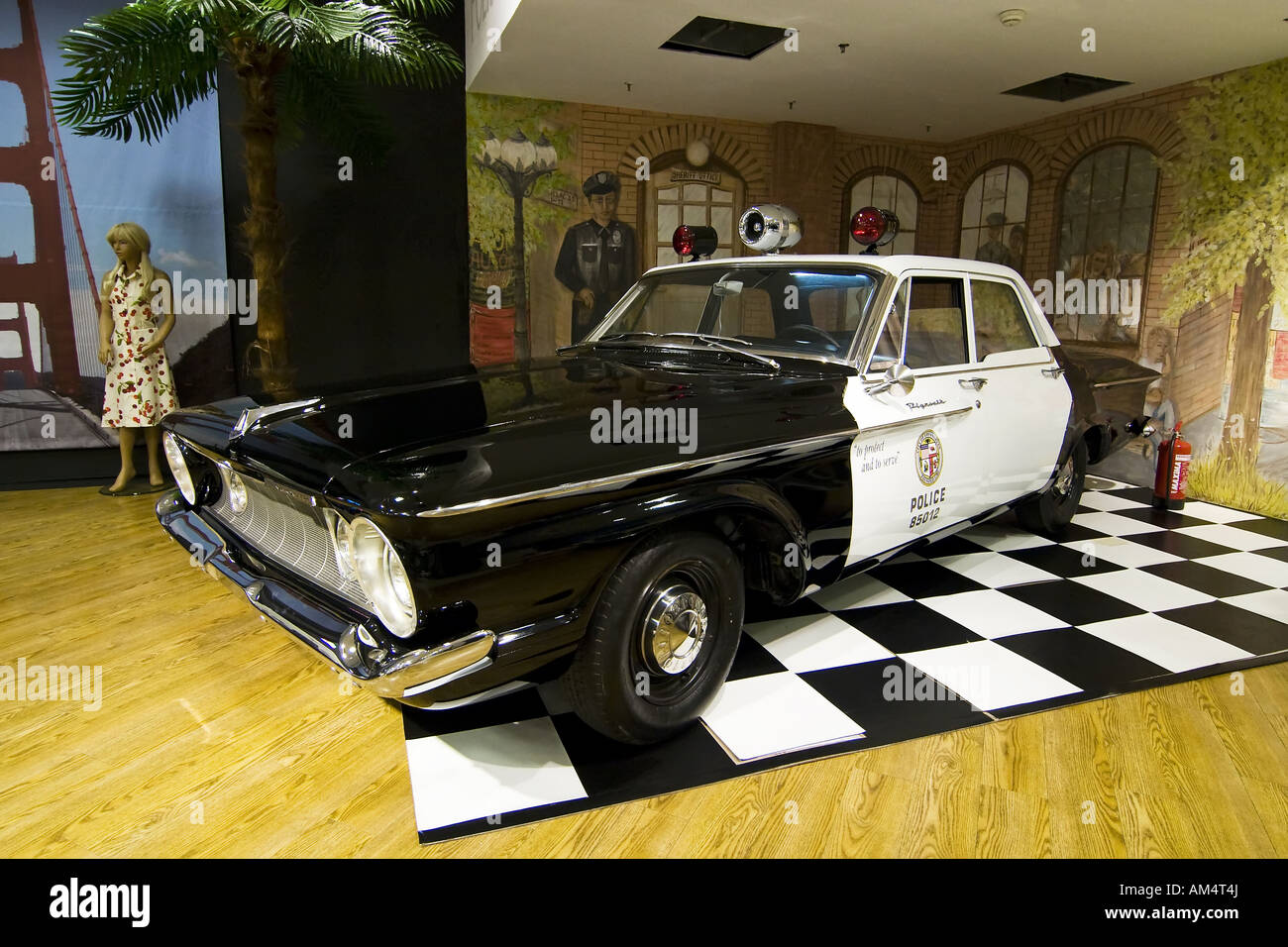 American Police Car 1950 S Stock Photos Amp American Police