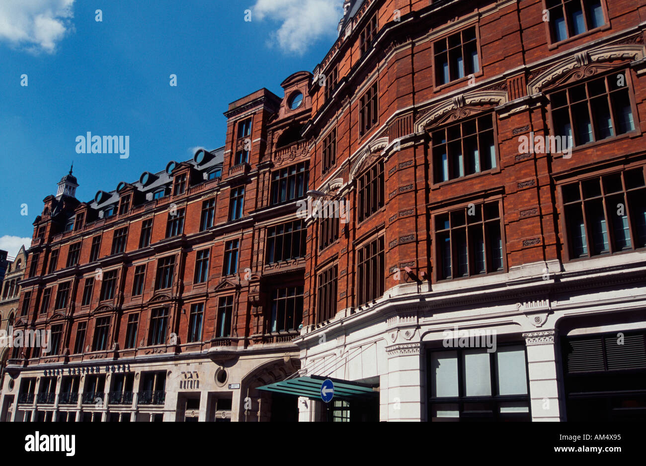 Liverpool Street Great Eastern Hotel London Uk Stock Photo