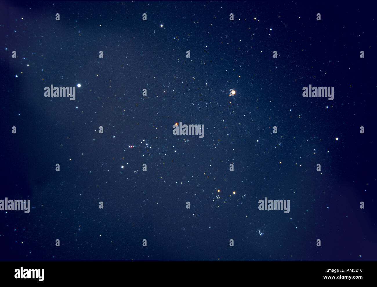 star field with Orion - Stock Image