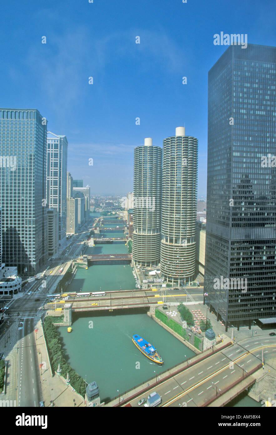 marina towers apartments chicago illinois stock photo 8659427 alamy