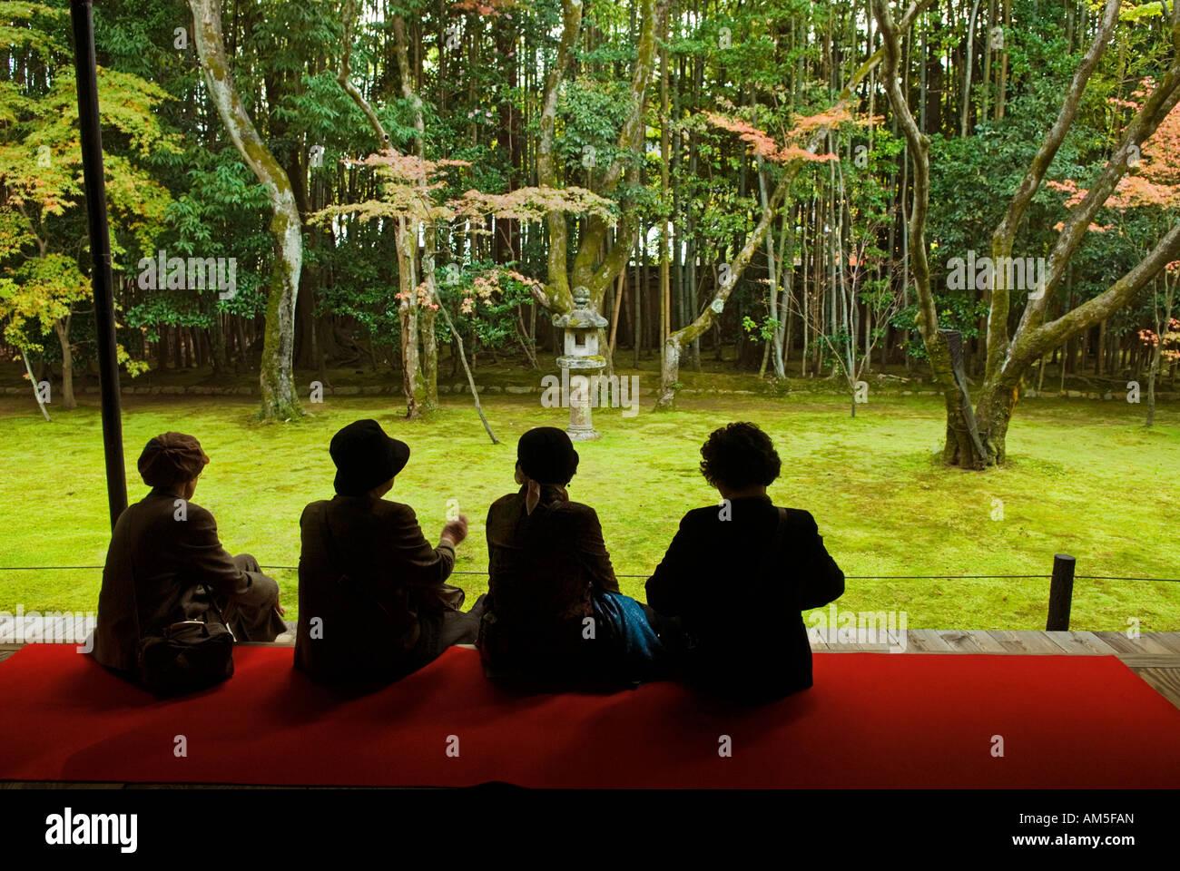 'Kotoin zen garden Kyoto Japan' - Stock Image