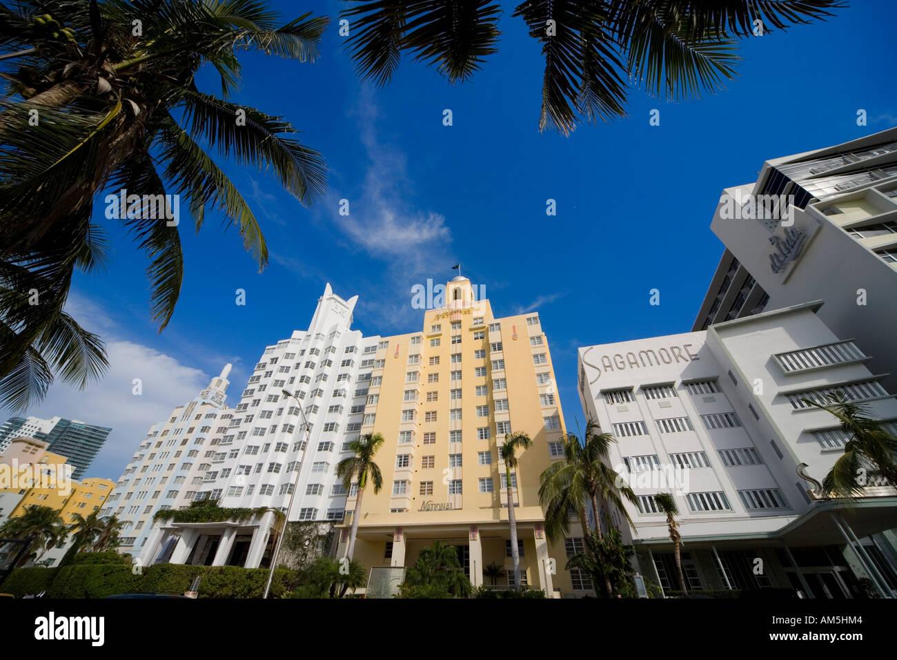 miami art deco hotel architecture ritz plaza the delano national