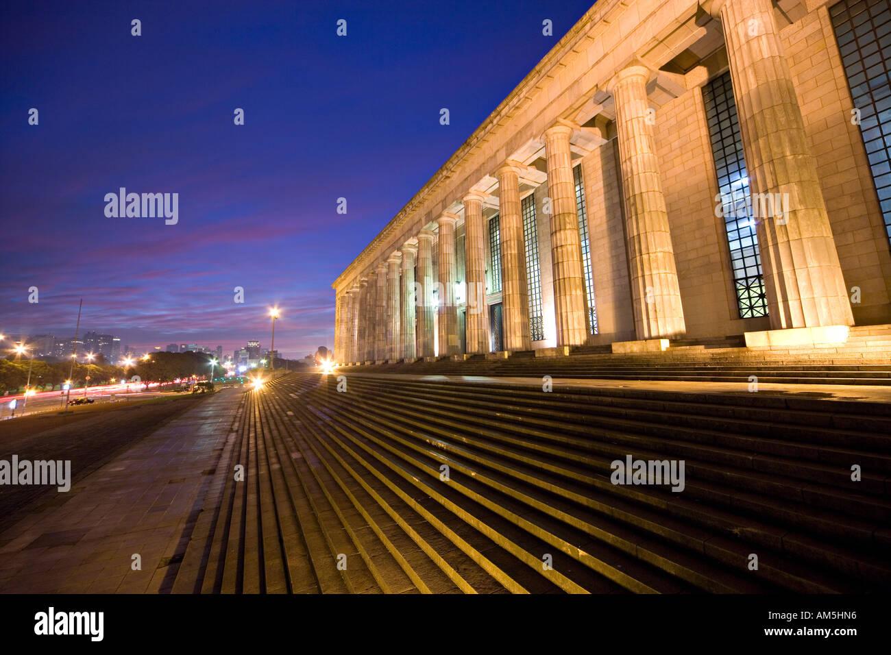 Buenos Aires UBA Facultad de Derecho y de Ciencias Sociales. University Law faculty, law school. - Stock Image