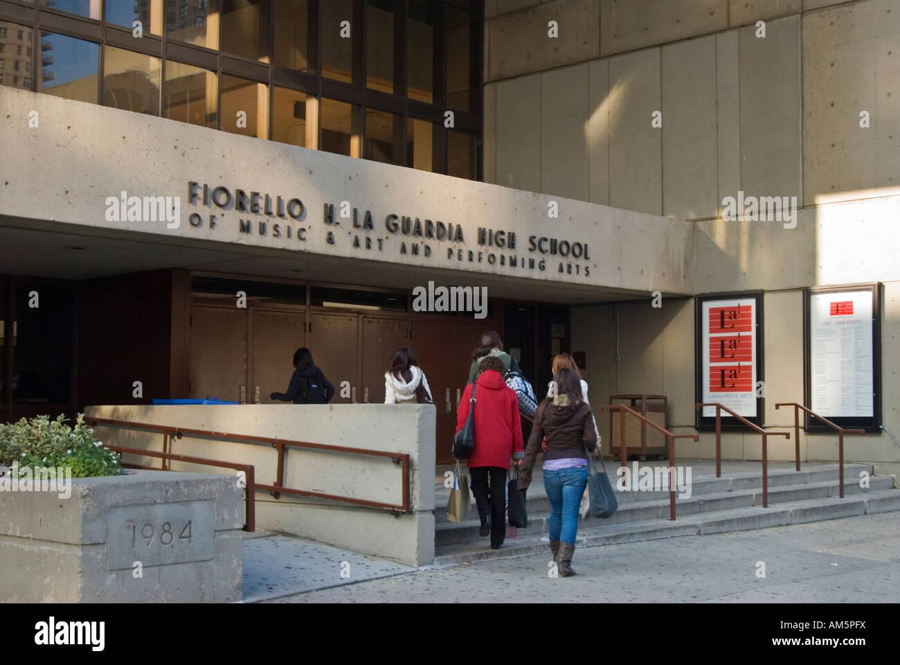 Fiorello H Laguardia High School Of Music Art And