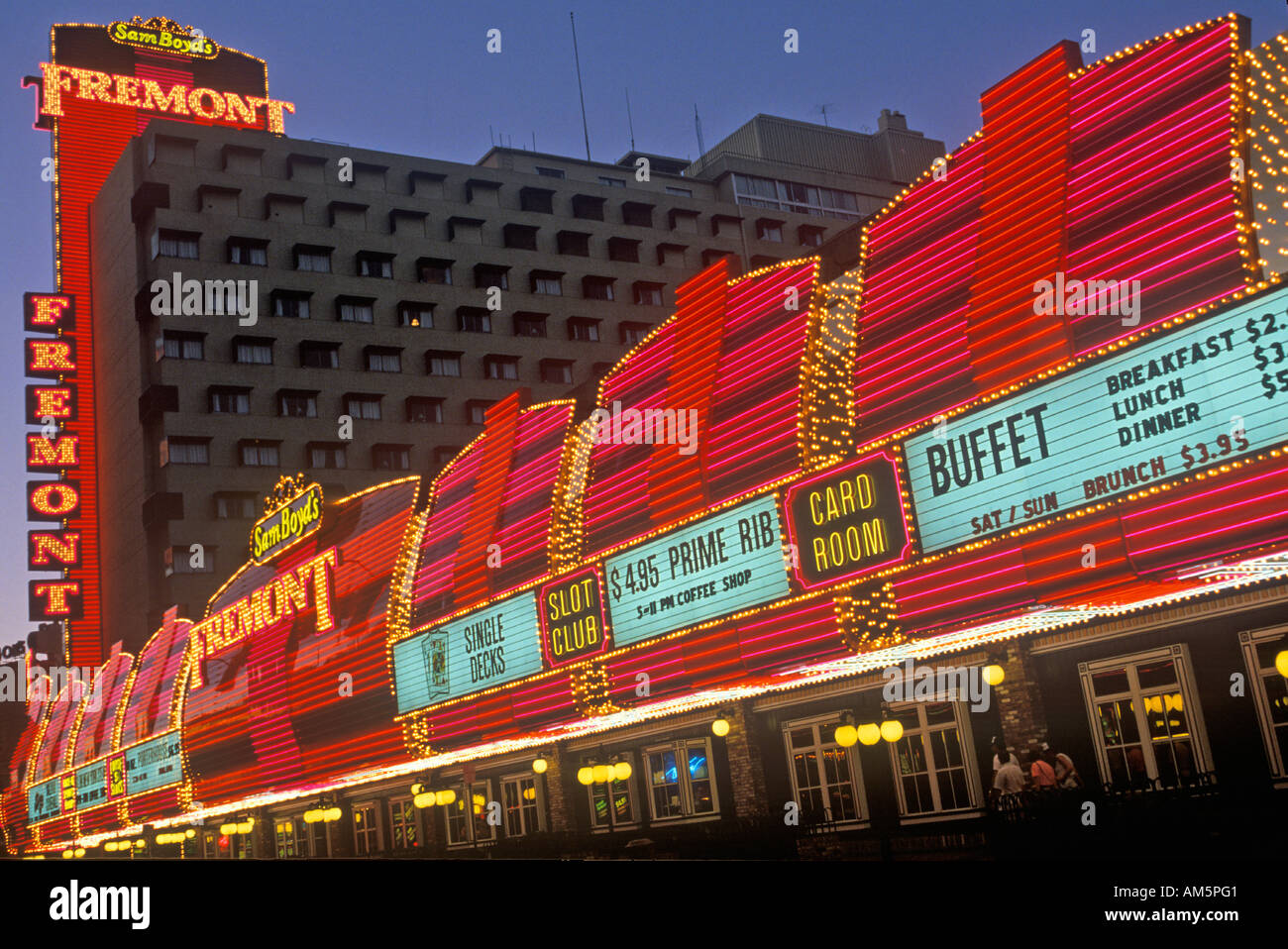 Cool The Fremont Hotel And Casino At Night Downtown Las Vegas Nv Download Free Architecture Designs Crovemadebymaigaardcom