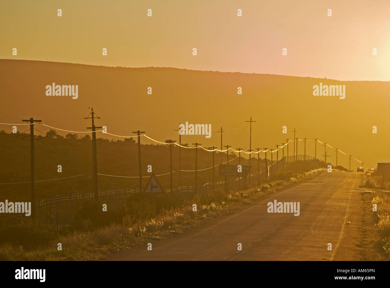 Telegrafenmasten Stock Photos & Telegrafenmasten Stock Images - Alamy