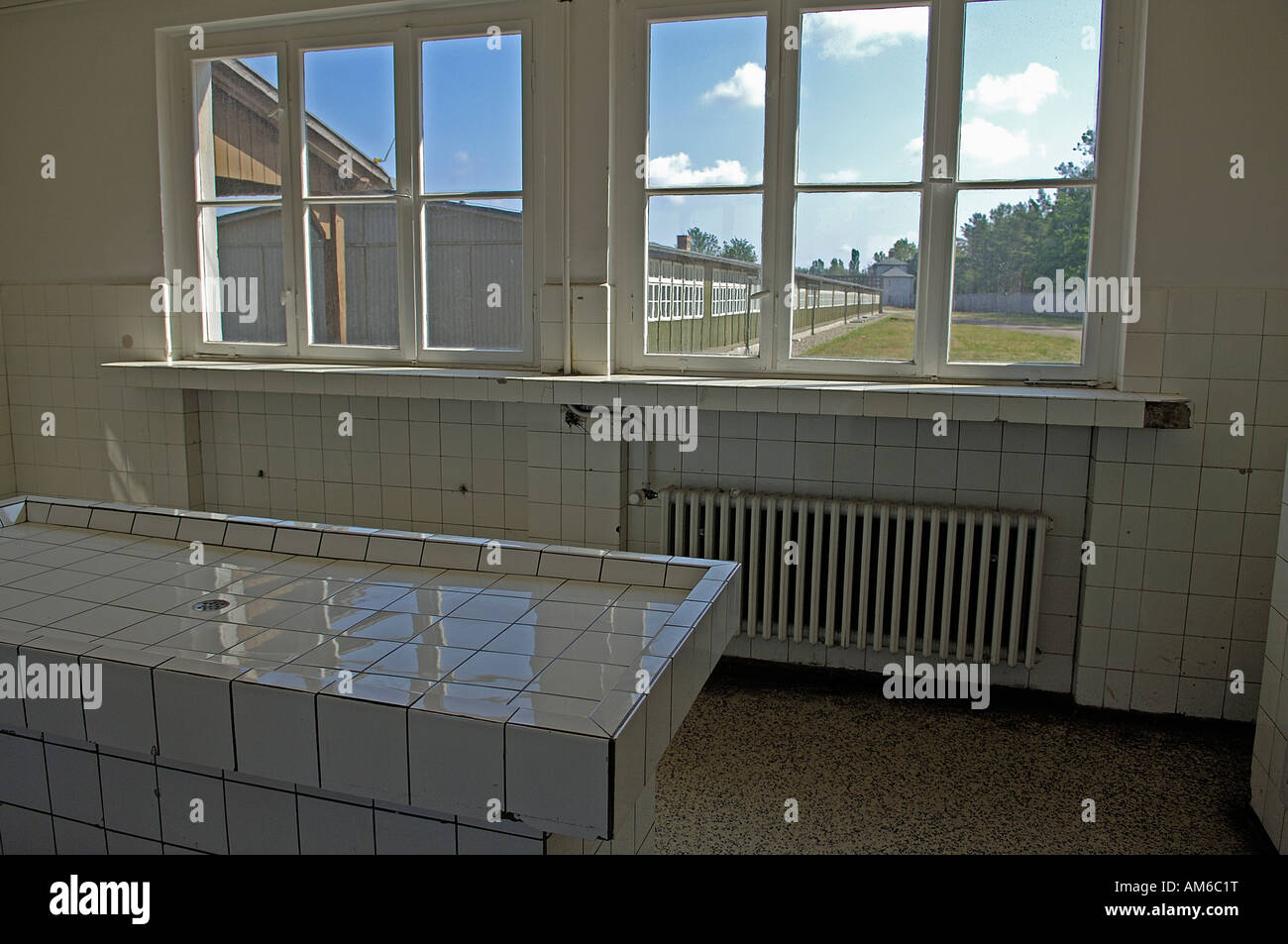 Pathology of concentration camp sachsenhausen, germany - Stock Image