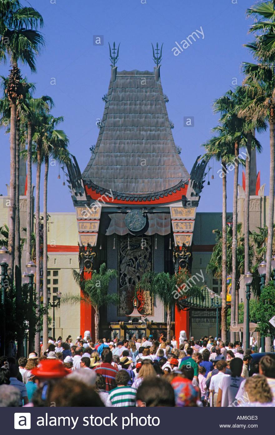 Chinese Theatre At Mgm Studios Walt Disney World Orlando Florida Usa