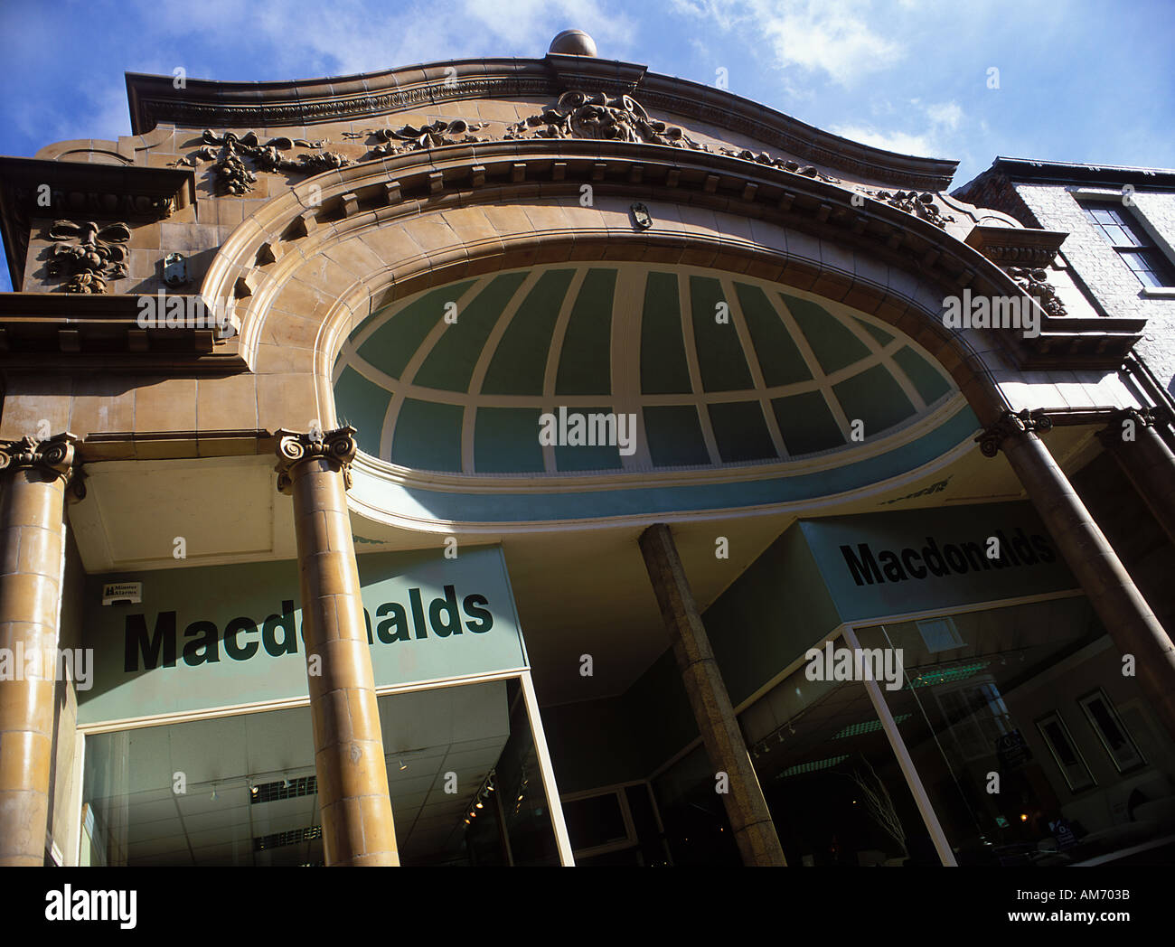 Originally the Electric Theatre built in 1911 by W H Whincup It was Yorks first purpose built cinema It has a Doulton ware facad - Stock Image
