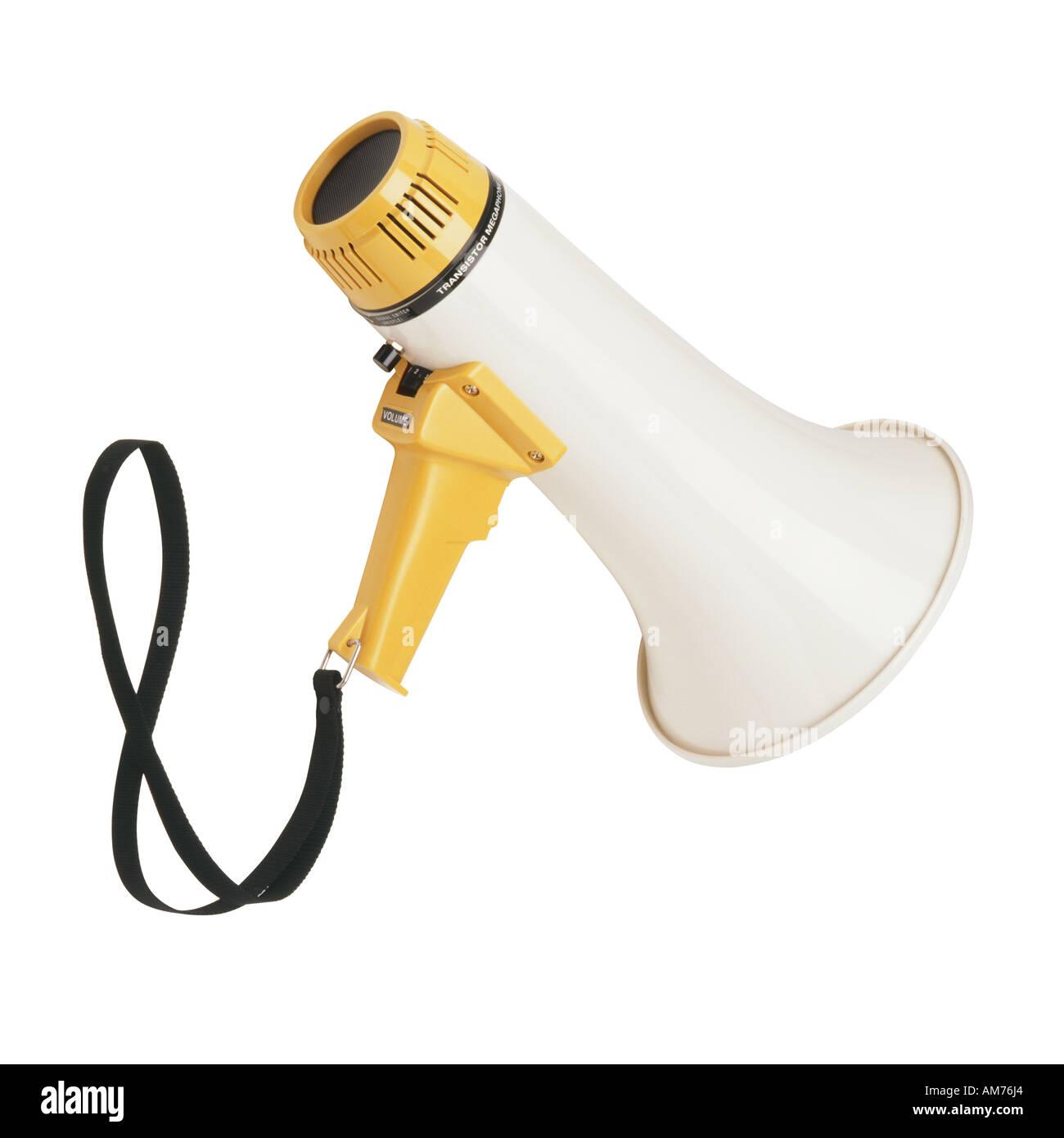 A megaphone - Stock Image