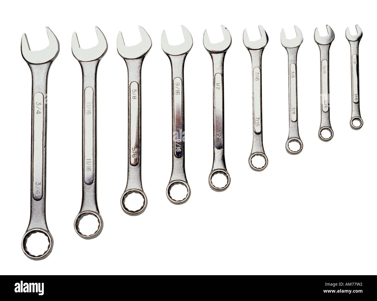A set of spanners - Stock Image