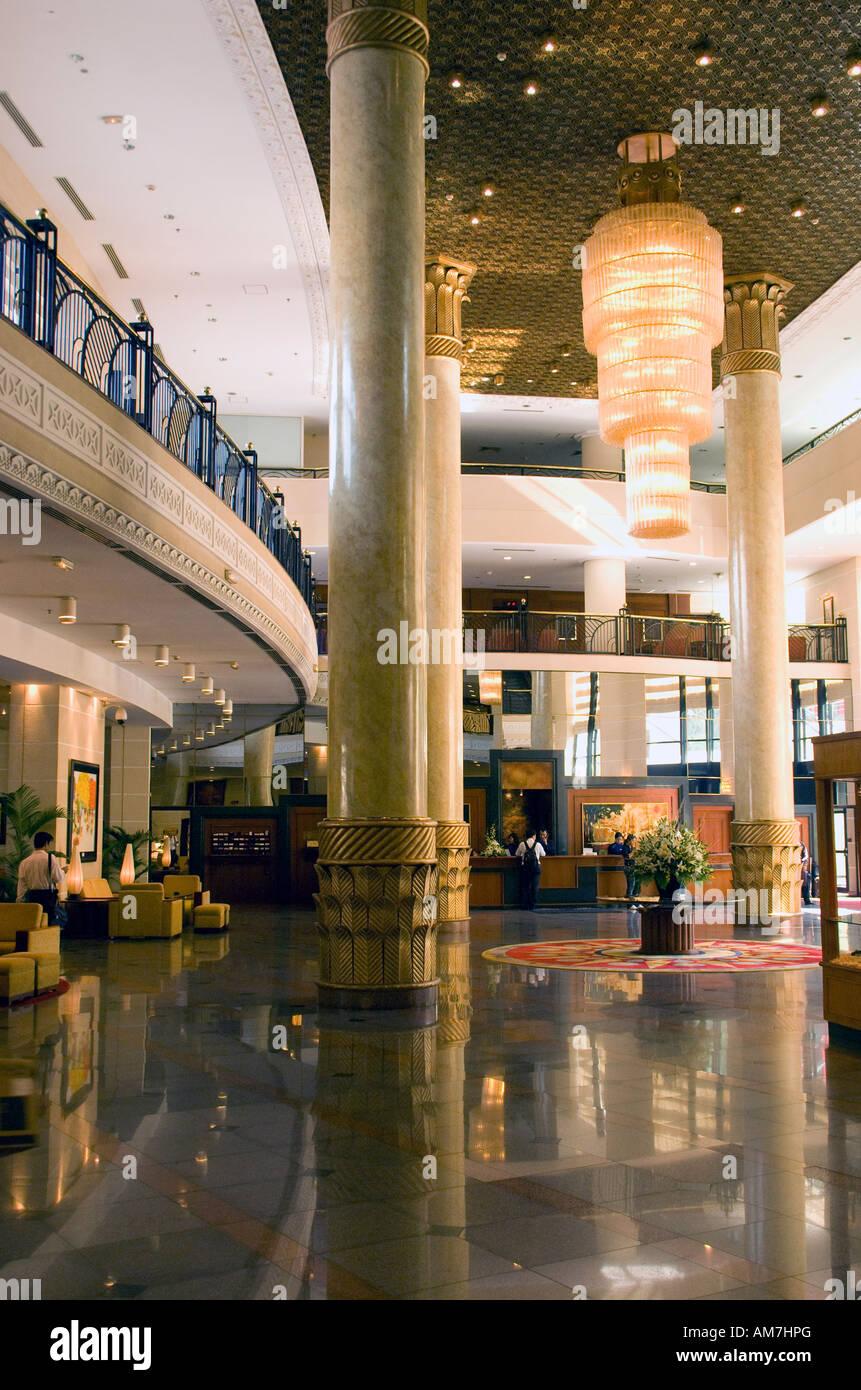 Hanoi Hilton Hotel lobby - Stock Image