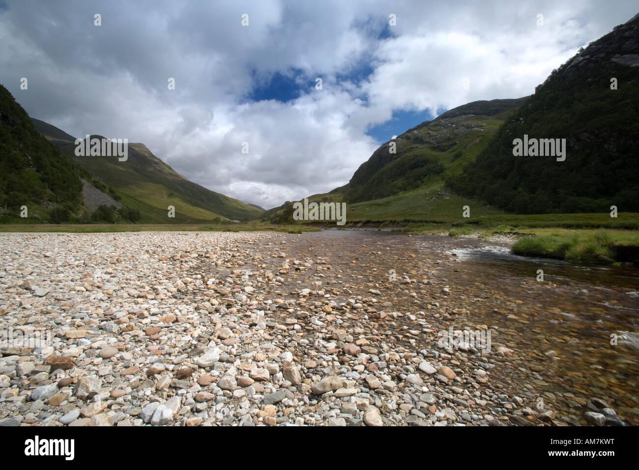 Water of Nevis, Glen Nevis, Lochaber, Scotland - Stock Image