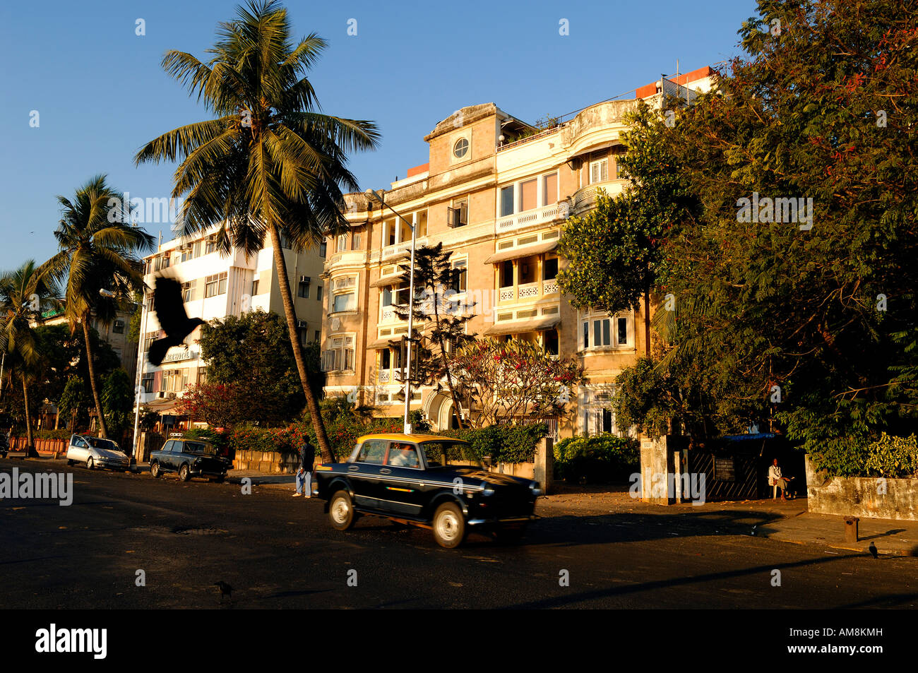 India, Maharashtra State, Mumbai (Bombay), House Along The Ramchandani Marg  (Strand Road)