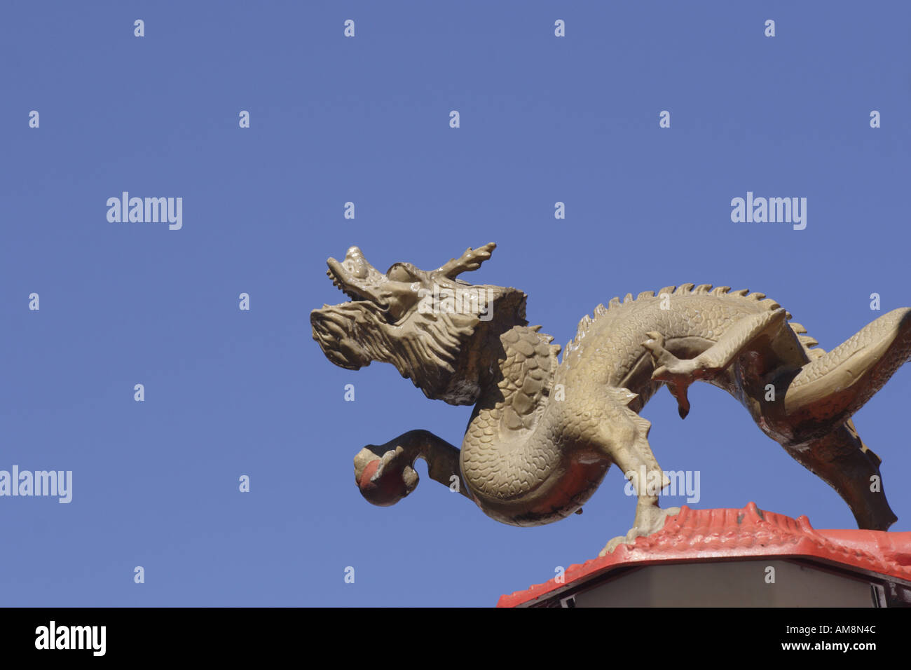 Dragon Chinatown Vancouver Canada - Stock Image