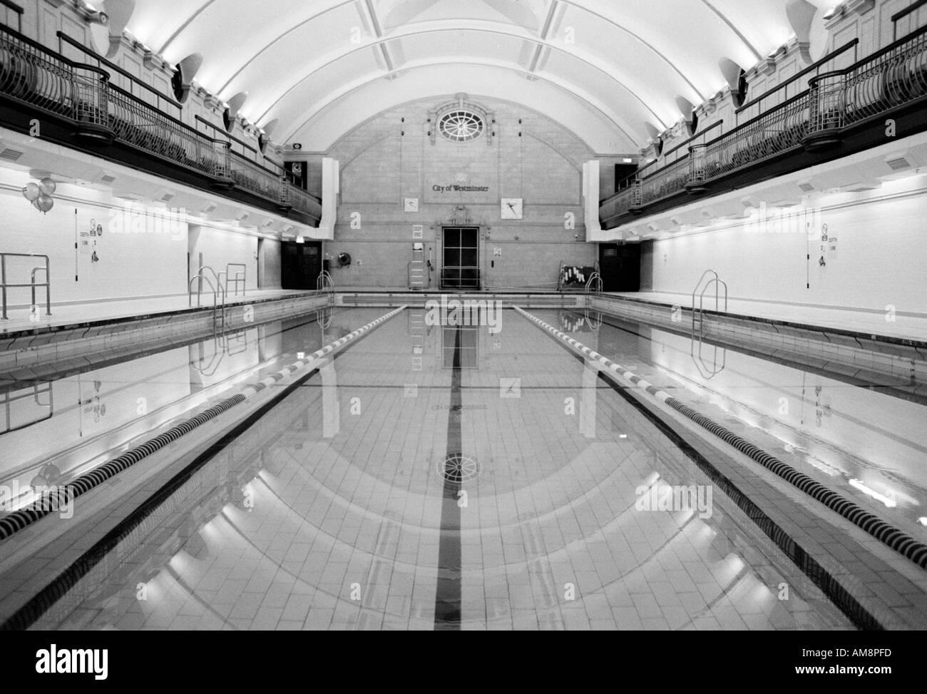 London swimming pool black and white stock photos images - Swimming pool highbury and islington ...