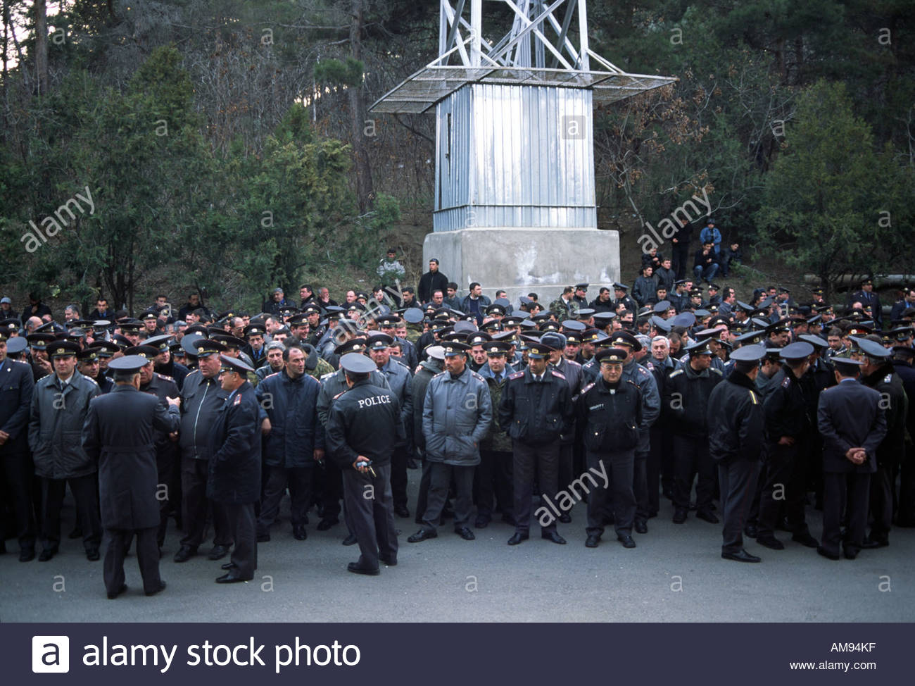 Tbilisi Georgia Police Stock Photos Tbilisi Georgia
