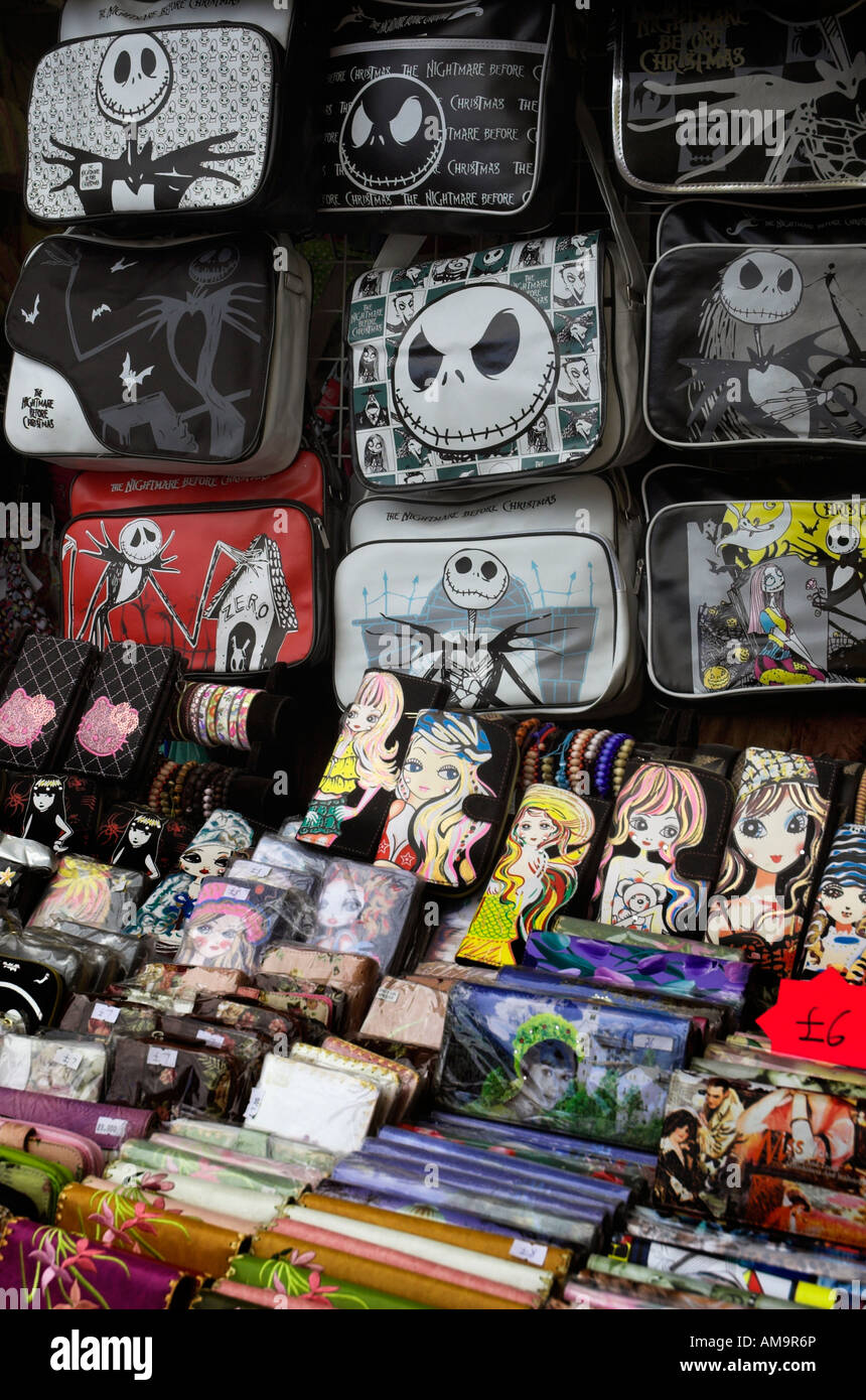 Nightmare Before Christmas T shirts & bags for sale in Camden Market ...