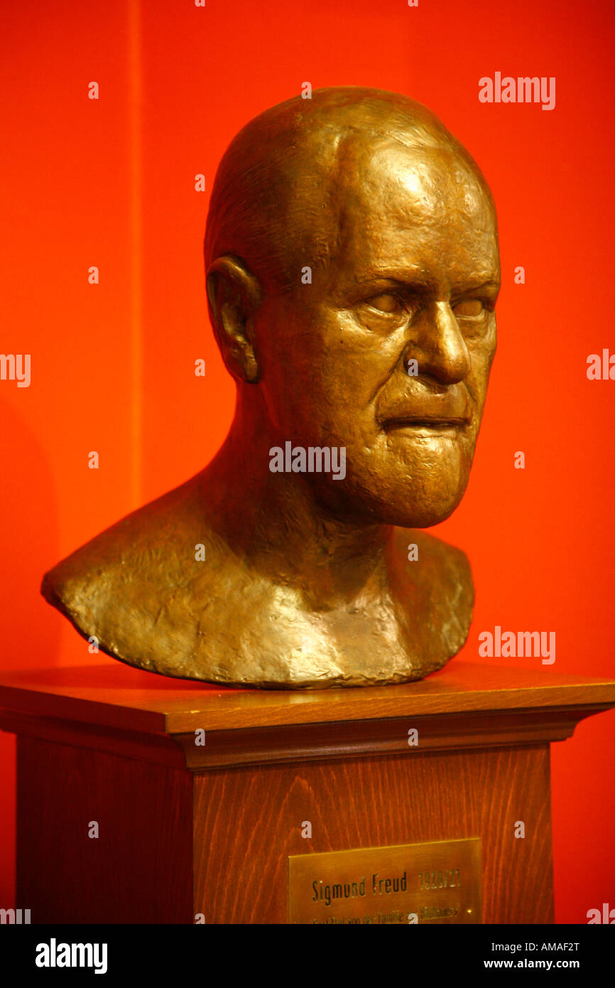 Aug 2008 - Sigmund Freud Museum Vienna Austria - Stock Image