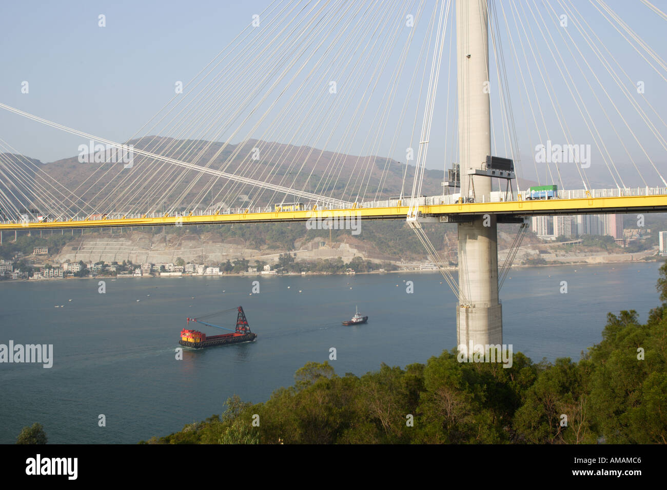 Ting Kau Bridge - Stock Image
