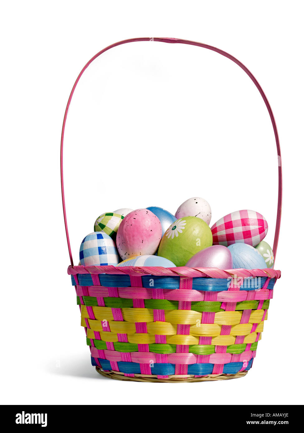 Easter Basket Cut Out Stock Photos & Easter Basket Cut Out Stock ...